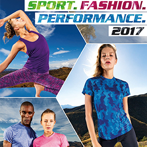 Sporttextilien Sportkatalog