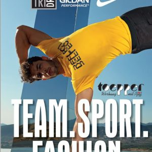 team sport fashion katalog toepper werbung cover
