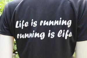 design sportshirts toepper werbung lifeisrunning