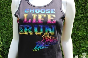 design sportshirts toepper werbungchoose life rainbow