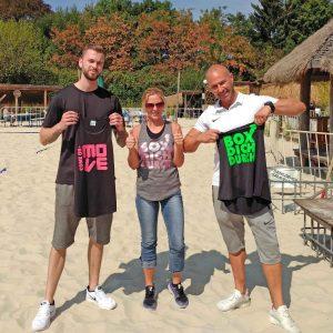 carlos vital club fitnesstag shirtevent toepperwerbung