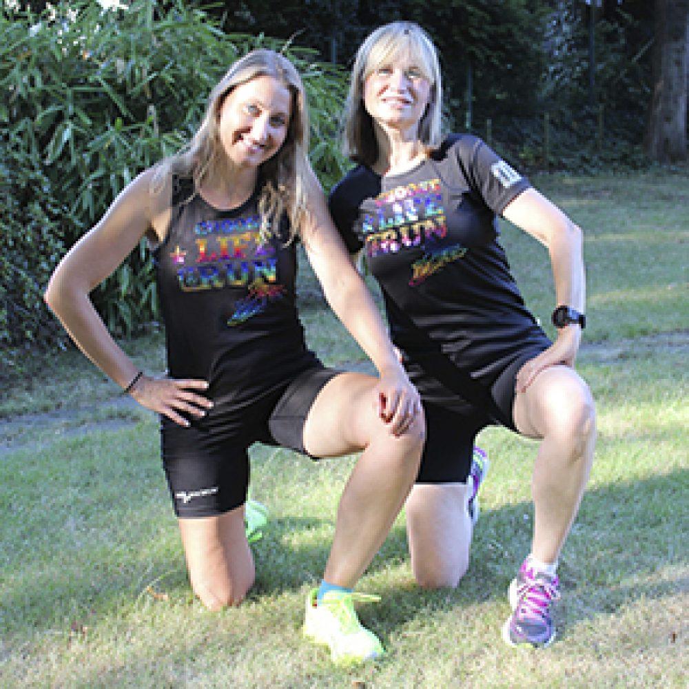 sportshirts toepperwerbung designshirts choose life schwarz rainbow glitzer 1 a 1