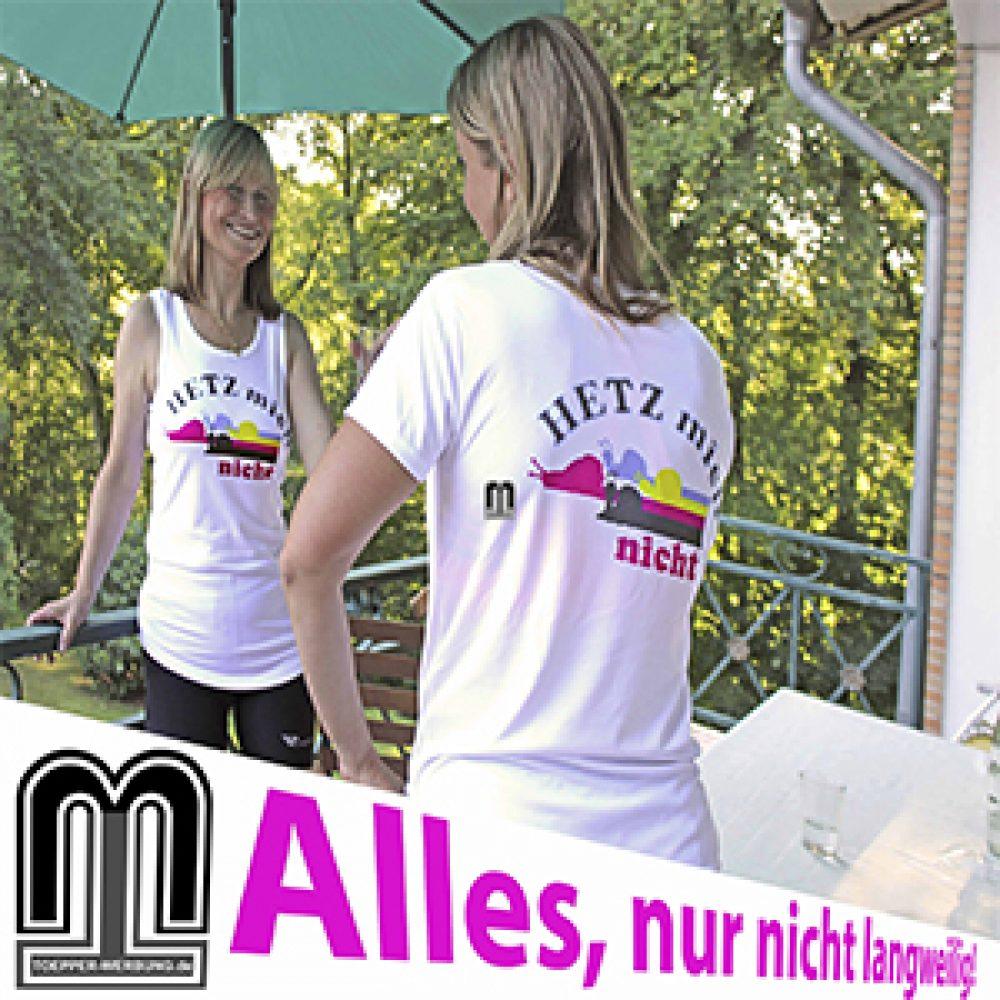 sportshirts toepperwerbung designshirts hetz mich nicht 3 1