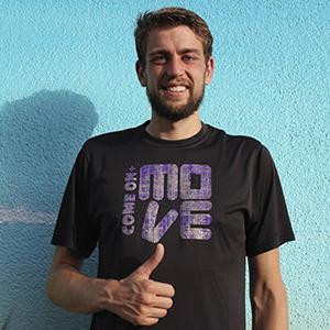 sportshirts toepperwerbung designshirts move lila schwarz